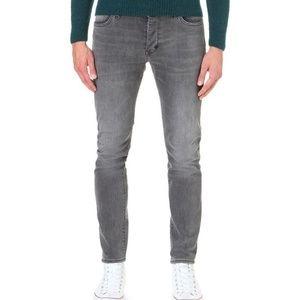 Neuw Iggy Skinny Grey Jeans Size 30